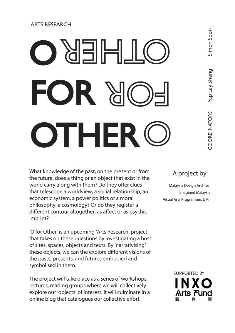 O for Other: A History of Malaysia through 101 Objects
