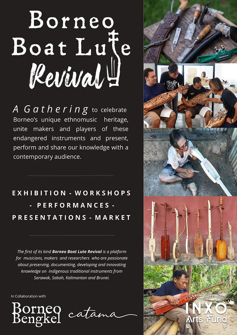 Borneo Boat Lute Revival Gathering