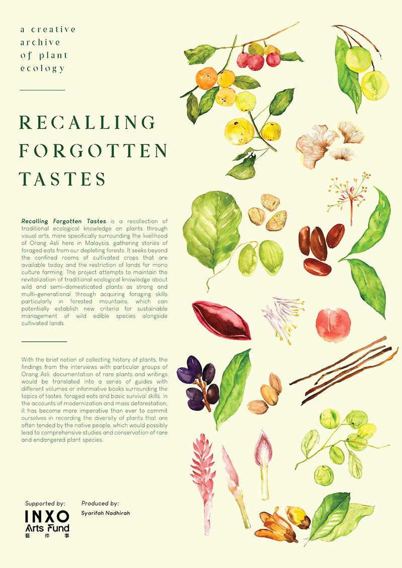 Recalling Forgotten Tastes